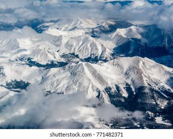 Snow peaked Mountains