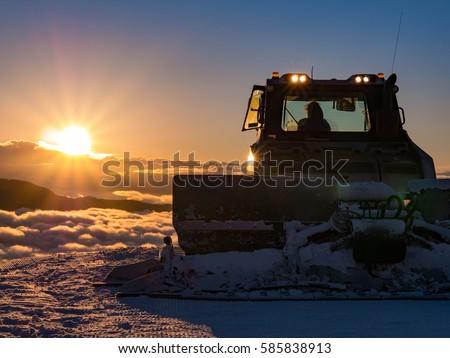 Morning plow