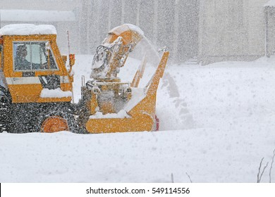 Snow removal Rotary