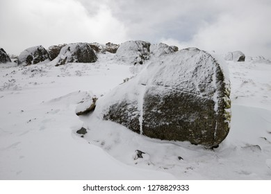 Snow scenery - Kosciuszko National Park Australia