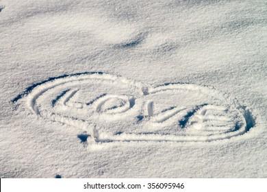 snow texture, sign