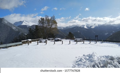 snow, winter, andorra, hice, cold