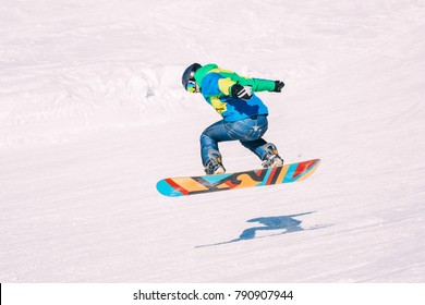 583a2253e2b1 Young Woman On Snowboard Night Stock Photo (Edit Now) 186828668 ...