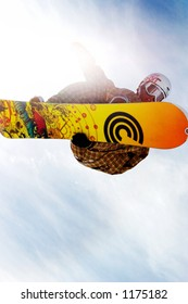 Snowboarder Mason Aguirre competing at 2005 Vans Tahoe Cup