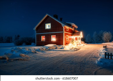 Snowbound Cottage