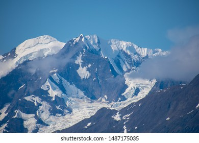 Snow-capped Mountains in Glacier Bay National Park