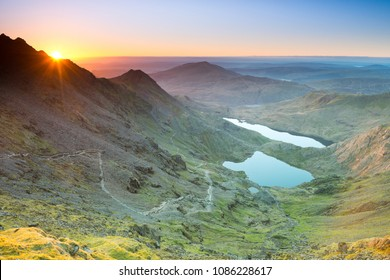Snowdon Sunrise ,Snowdonia National Park ,Wales