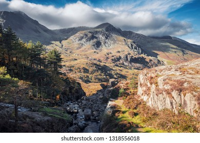 Snowdonia National Park in North Wales,UK