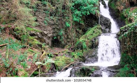 Snowdonia Waterfall, North Wales