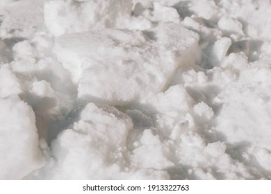 Snowdrift as texture background. Copy, empty space for text.
