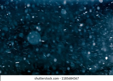 """Snowflakes against black background for adding falling snow texture into your project. Add this picture as """"Screen"""" mode layer in Photoshop to add falling snow to any image."""