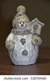 Snowman as decoration