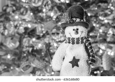 Snowman Holiday Decoration