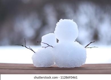 Snowman lovers date
