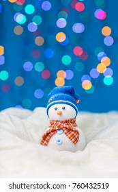 Snowman puppet for merry xmas