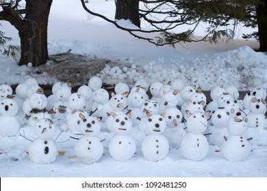 Snowman of Sapporo Winter Festival
