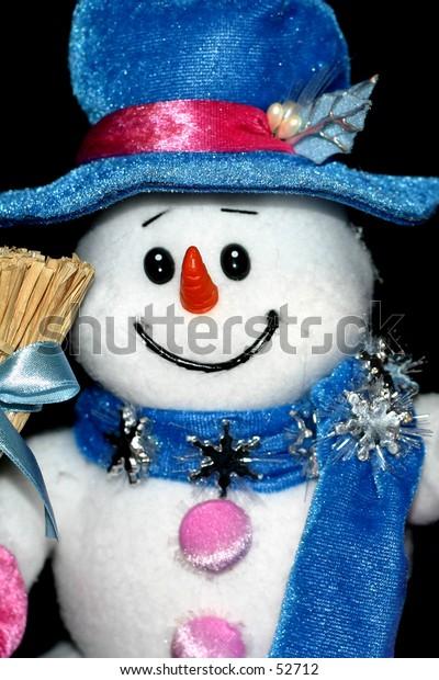 Snowman toy.