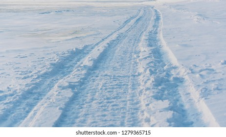 snowmobile tracks Images, Stock Photos & Vectors | Shutterstock