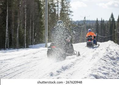 Snowmobile Racing Images, Stock Photos & Vectors | Shutterstock