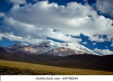 Snowy mountain Coropuna