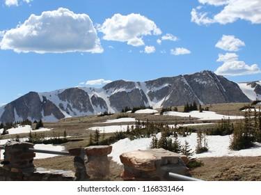 snowy range scenic byway wyoming