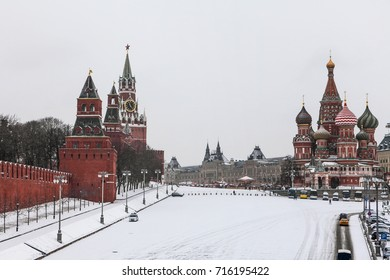 Snowy at Red Square / Kremlin / Russia