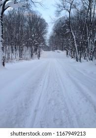 Snowy Trails Tug Hill Snowmobile