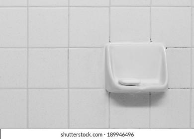 Soap Dish in a bathroom