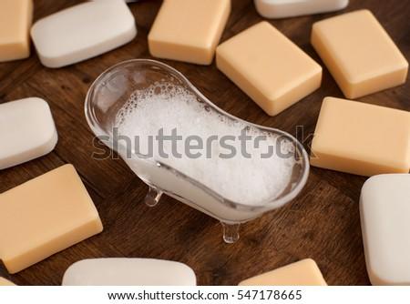 Soap Lather Soap Suds Decorative Bath Stock Photo Edit Now