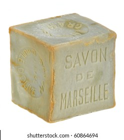 Soap of Marseille isolated