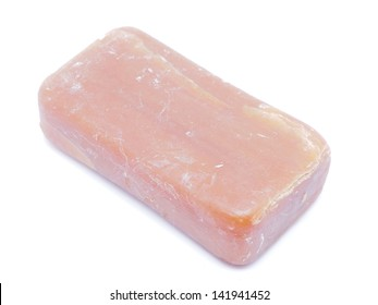 soap on a white background
