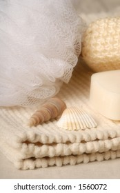 soap and sponge