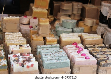 Soaps and cosmetics handmade