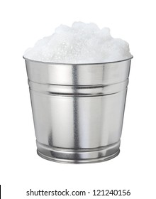 Soapsuds Bucket Isolated on a white background