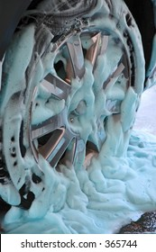 soapy tire