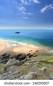 Soar mill cove Beaches on the south devon coastline Devon England UK