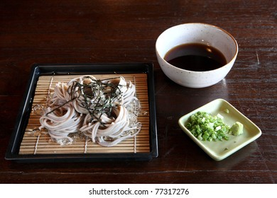 Soba : japanese noodle
