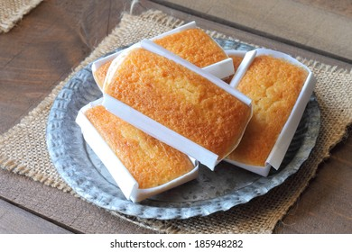 Sobaos pasiegos, traditional Spanish flat cakes from the region of Cantabria