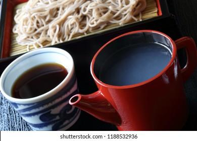 Sobayu,hot buckwheat water(soba water)