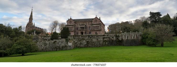 Sobrellano's Palace, Santander