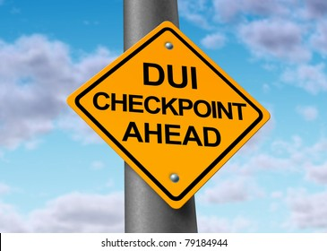 Sobriety and drunk driving checkpoint