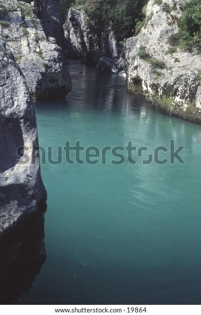 Soca River Julian Alps Slovenia