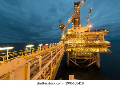 SOCAR-KBR Offshore Industrial Work Caspian Sea