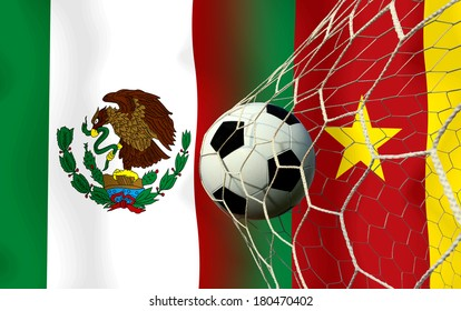Soccer 2014 ( Football )  Mexico and  Cameroon