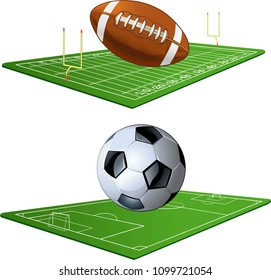 Soccer and American Football