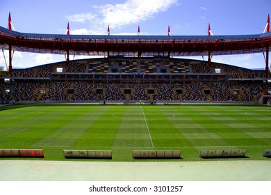 soccer arena of the euro in Portugal