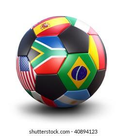 Soccer Ball (3D Illustration)