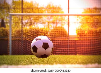 Soccer ball with amazing light