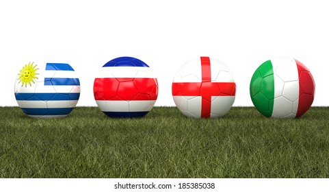 soccer ball with flag  background