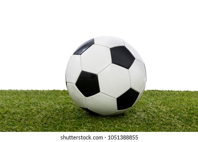 soccer ball held